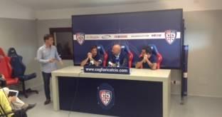 Cagliari Calcio:confermati Dessena e Sau