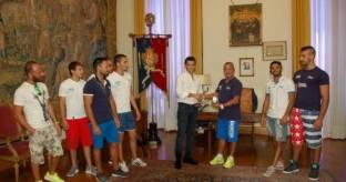 Nazionale boxe incontra sindaco Cagliari