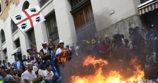 Alcoa:scontri Roma nel 2012, 11 indagati